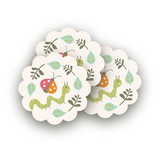 Park Party Scalloped Stickers