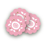 Sweet Clementine Scalloped Stickers