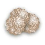 Wildflowers Scalloped Stickers