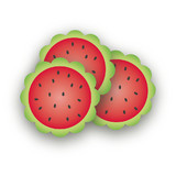 Watermelon Scalloped Stickers