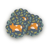 Farm Friends Scalloped Stickers