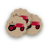 A Tractor Pull Scalloped Stickers