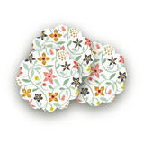 Botanical Affair Scalloped Stickers