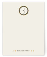 Mid-Century Monogram Personalized Stationery