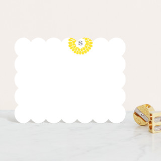 Flower Burst Personalized Stationery