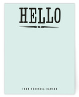 Holla Hello Personalized Stationery