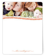 Family of Note Personalized Stationery