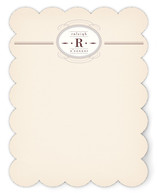 Entremet Personalized Stationery