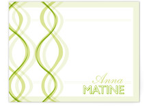 two braids Personalized Stationery