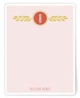 Serene Floral Personalized Stationery