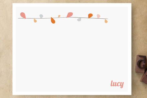 Branch Out Personalized Stationery