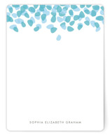 Petal Shower Personalized Stationery