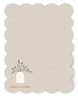 Floral Redux Personalized Stationery