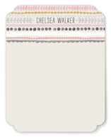Striped Lines Personalized Stationery