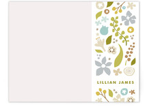 Garden Party Personalized Stationery
