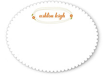 Stitched Personalized Stationery
