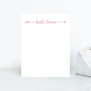 Audrina Personalized Stationery