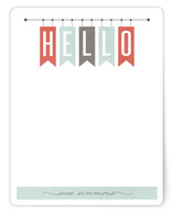 Hello Banners Personalized Stationery