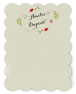 Poesie Personalized Stationery