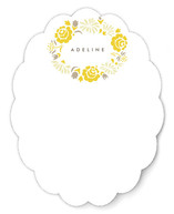 Bouquet Frame Personalized Stationery
