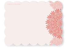 Delicate Doily Personalized Stationery