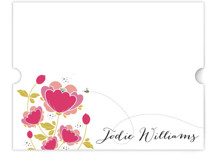 Poppy Fields Personalized Stationery