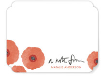 Poppy Talk Personalized Stationery
