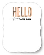 Total Hello Personalized Stationery