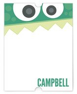 Little Monster Personalized Stationery