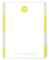 Lemon Drop Personalized Stationery