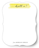 Happy Hello Personalized Stationery
