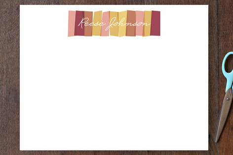 Colorways Personalized Stationery