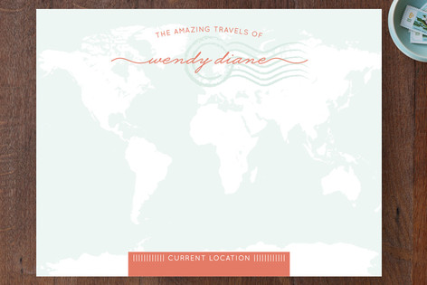 Amazing Travel Personalized Stationery