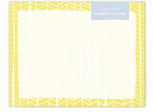 Pretty Patterns Personalized Stationery