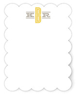 Classic Monogram Personalized Stationery