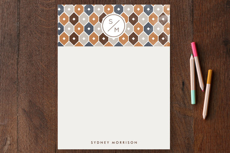 Handsome Boy Modelling Personalized Stationery