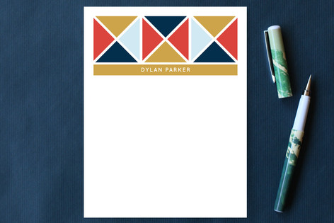 Nautical Triangles Personalized Stationery