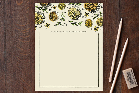 Dandy Lions Personalized Stationery