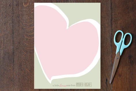 Love Notes Personalized Stationery