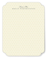 Honeycomb Notes Personalized Stationery
