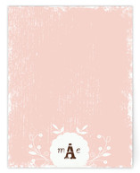 Shabby She Personalized Stationery