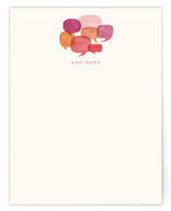 Talk Bubbles Personalized Stationery