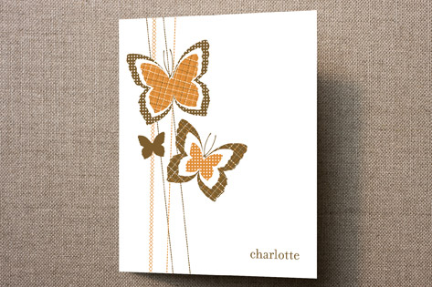 Flutterpatch Personalized Stationery