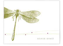 Dragonfly Personalized Stationery