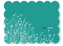 Modern Nature Personalized Stationery