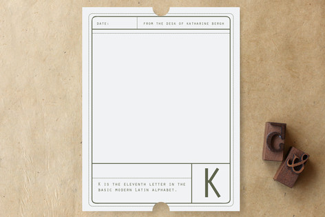 Limited Edition Personalized Stationery