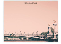 Pink Pont Alexandre by Caroline Mint