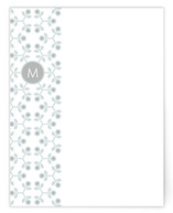 lemon lace Personalized Stationery