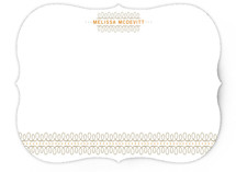 lovely swirls Personalized Stationery