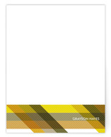 Tartan Personalized Stationery